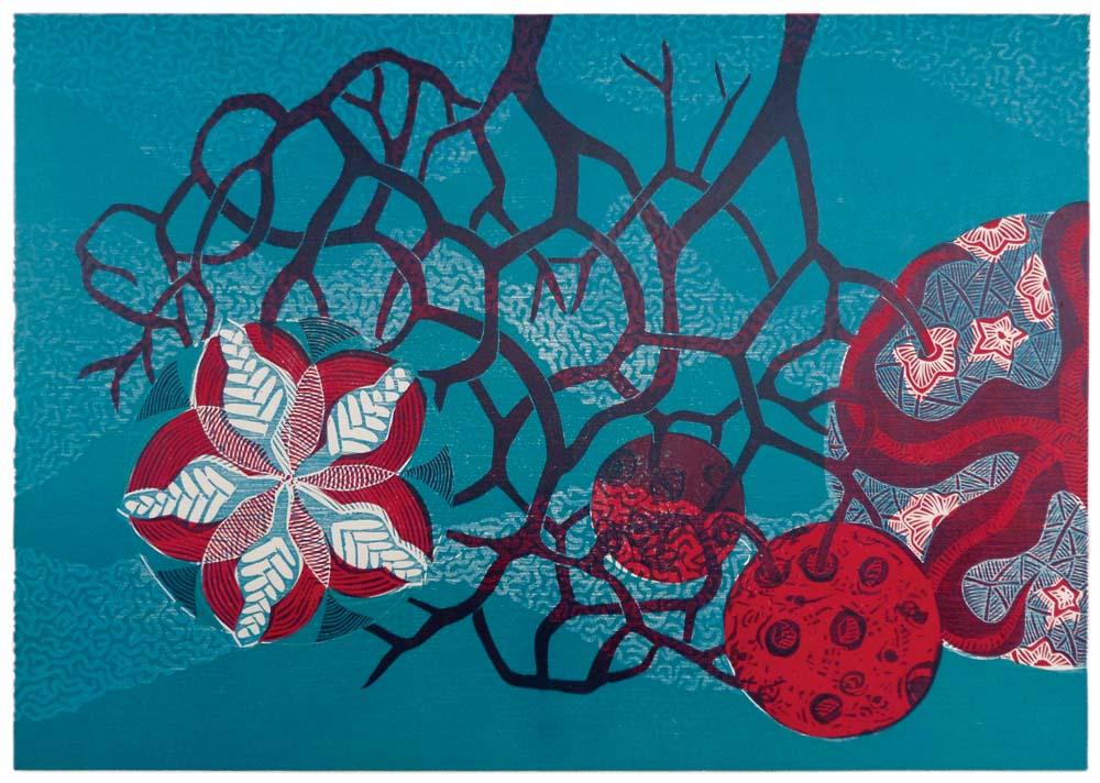 Knospensterne, mikroskopische Meereslebewesen