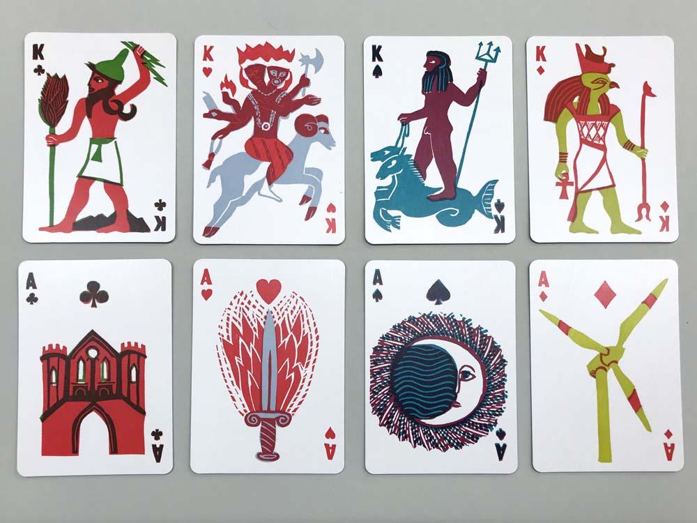 Baal, Meeresgott Poseidon, Feuergott Agni, Horus, Festung, Mond, Flammenschwert, Windrad