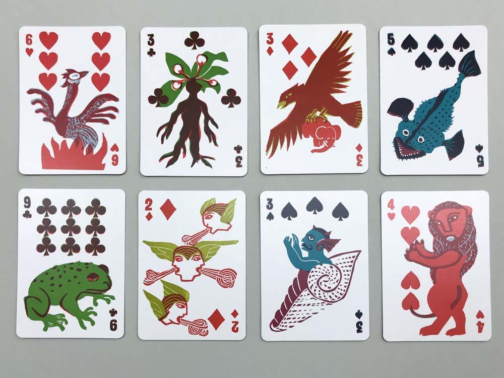 Phönix, Alraune, Riesenvogel Roch, Seeteufel, Kröte, Die vier Winde, Dämon Shankhasura, Löwe