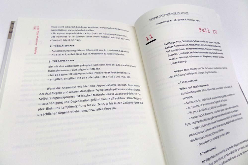 Detailansicht Typografie