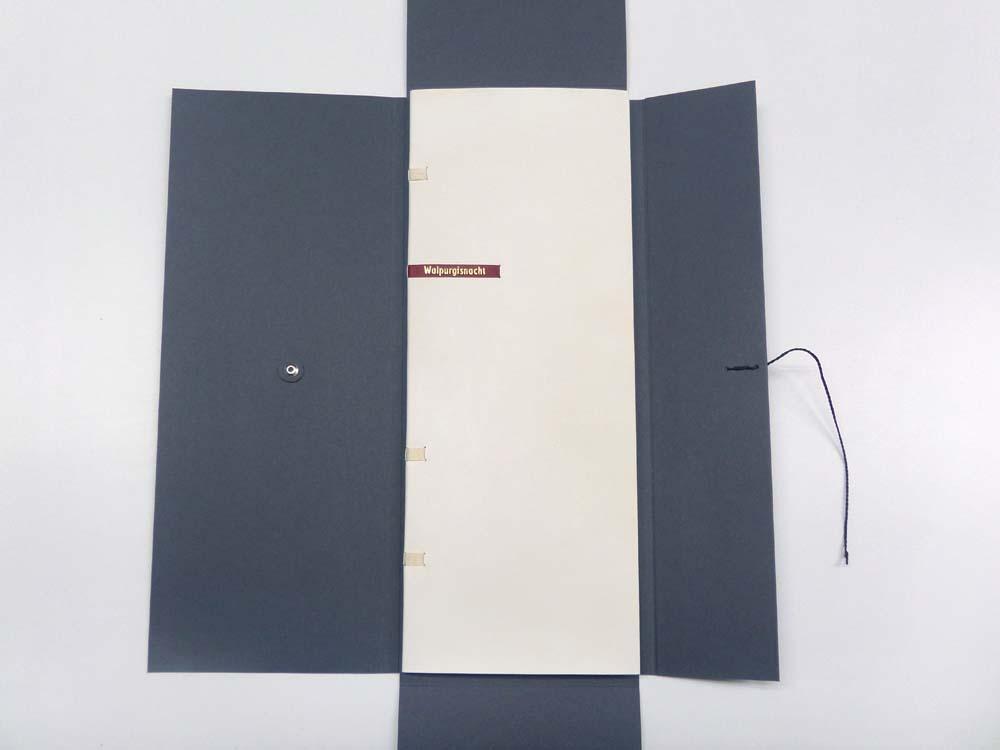 Grafikbuch in Kartonmappe